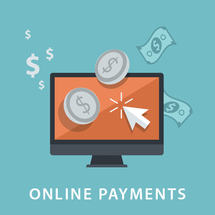 making online payments on a computer