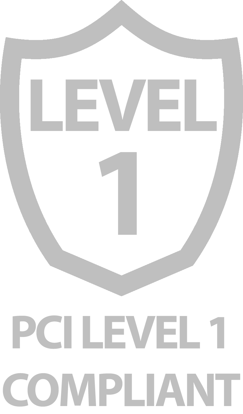 PCI Level 1 Compliant Logo
